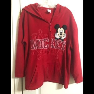 Mickey Mouse zipper hoodie